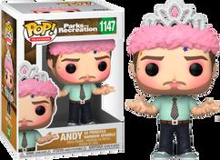 Parks and Recreation - Andy as Princess Rainbow Sparkle Pop! Vinyl Figure