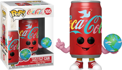 """Coca-Cola - """"I'd Like To Buy The World A Coke"""" Can Pop! Vinyl Figure"""