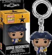 Hamilton - George Washington Pocket Pop! Vinyl Keychain