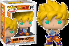 Dragon Ball Z - Super Saiyan Goku with Kamehameha WavePop! Vinyl Figure