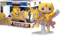 Masters of the Universe - She-Ra on Swift Wind Pop! Rides Vinyl Figure