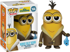 Minions - Bored Silly Kevin Pop! Movie Vinyl Figure
