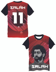 8e1b24fd7 LIMITED EDITION Salah 11 Red Supporters football shirt