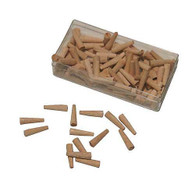 Wooden Hole Plugs - 100 pack