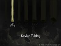 ".5"" (1/2"" - 13mm) ID - Kevlar Tubing Wick"
