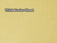 "Kevlar Sheet - 1/16"" (1.5mm) Thick"