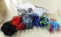 Fuzzy Wick Covers -Dragon Staff