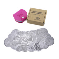 Stamping Buffet Plate Collection - 24B