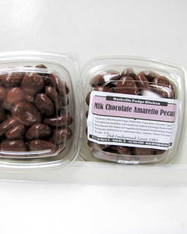 Milk Chocolate Amaretto Pecans