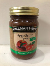 Apple Butter spread - No sugar added 15 oz.
