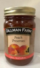 Peach Preserves 15 oz.