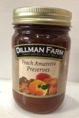 Peach Amaretto Preserves 15 oz