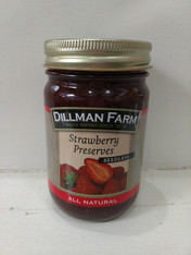 Strawberry fruit spread - Reduced Sugar- 15 oz