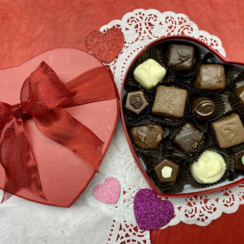 Small heart confections assortment Valentines Box