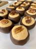 Dark chocolate bourbon buckeyes.