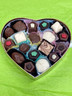 Assorted confections heart box
