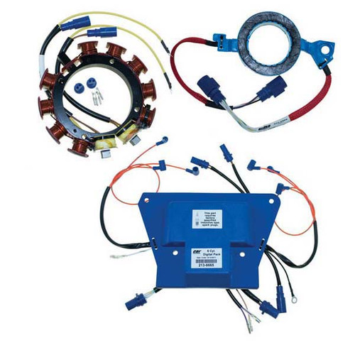 Johnson Evinrude 6 Cylinder Outboard Digital Ignition Power Pack (Incl. 213-6665 & 233-4586 & 173-3117) by CDI