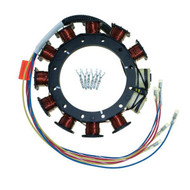 Mercury / Mariner 3/4 Cylinder Outboard 9 Amp Stator by CDI