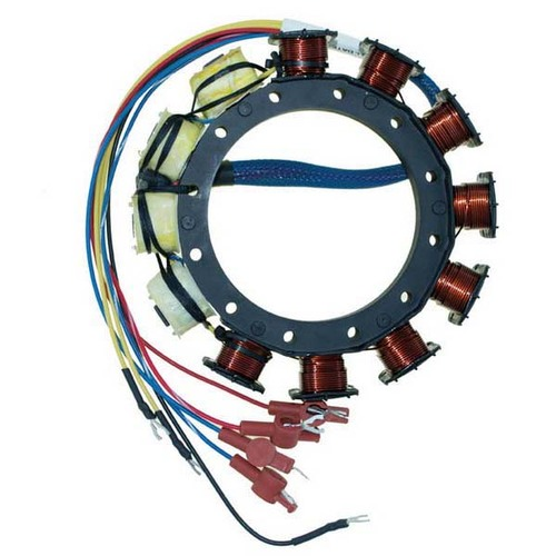 Mercury / Mariner 6 Cylinder Outboard High Performance 16 Amp Stator by CDI