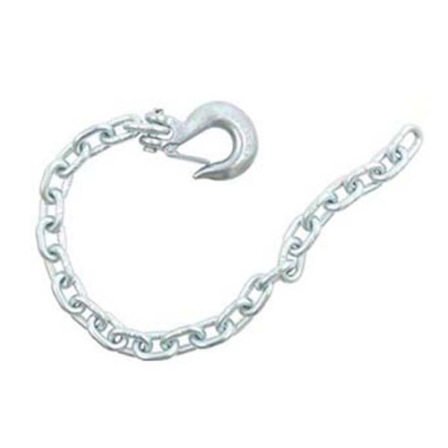 Fulton Boat Trailer Safety Chain with Clevis Hook