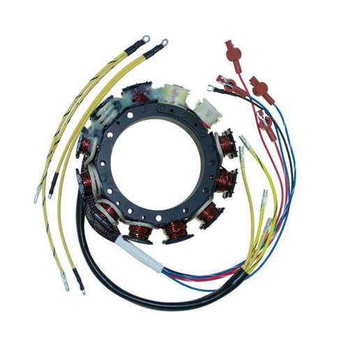Mercury / Mariner 6 Cylinder Outboard High Performance 40 Amp Racing Stator by CDI