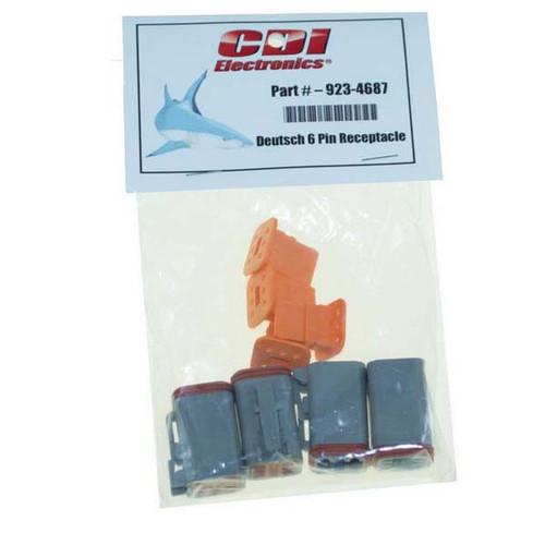 CDI Deutsch 6 Pin Receptacle