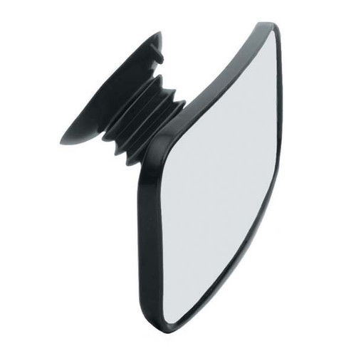 Convex Ski Mirror with Suction Cup Mount