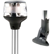 Attwood Anchor Masthead Boat Navigation Light w/ Dual Mount
