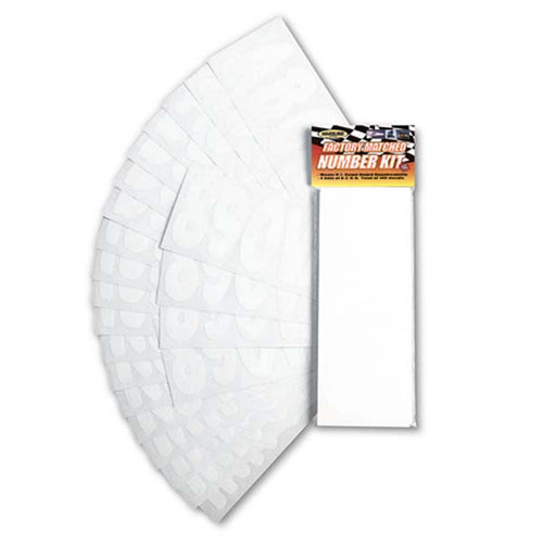 "3"" Boat Letter and Number Kit - White"