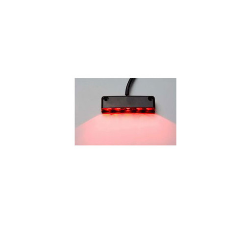 5-LED Orange Step Light - Surface Mount