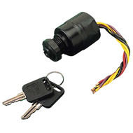 Sea Dog Poly Marine Ignition Switch 3 Position - Magneto 6 Wire