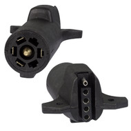 Optronics 7 to 5 Way Flat Vehicle to Trailer Adapter
