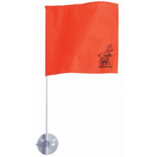 Airhead Water Skier Down Flag with Suction Cup Mount