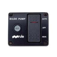 Rule 3-Way Rocker Panel Bilge Pump Switch