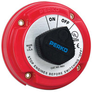 Perko 250 Amp Battery Disconnect Switch for 12, 24 or 36 Volt Systems
