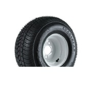 """Loadstar 205/65D10 5 Lug 10"""" Bias Trailer Tire - White"""