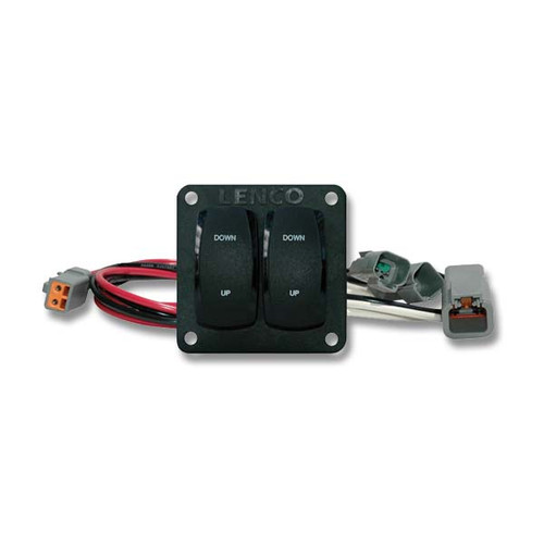 Complete Double Rocker Switch Kit