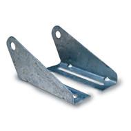 Boat Trailer Roller Split Panel Brackets, Galvanized