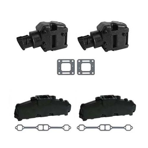 Complete Exhaust Set for Mercruiser Small Block V8