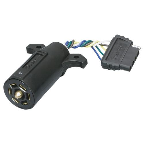 7-Way Vehicle To 5-Way Trailer Adapter