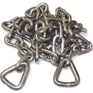 Sea Sense Polished Stainless Steel Anchor Chain