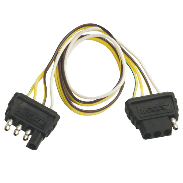 Flat 4 Wiring Harness Extension | Boat Trailer Lights  Flat Wiring Harness Extension on 3 flat wiring harness, 4 flat engine, 4 flat wiring adapter, 4 flat mounting bracket, toyota sequoia 2001 2007 towing harness, molded connector 6-way trailer harness, 7 flat wiring harness, 4 flat connector, 4 point wiring harness, 4 flat tires,