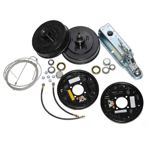 Complete Single Axle Boat Trailer Brake Kit Uni-Servo