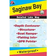 Saginaw Lake Fishing Map