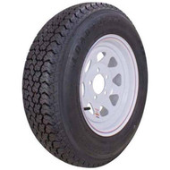 "Kenda Loadstar K550 175/80D13 5 Lug 13"" Bias Trailer Tire - White"