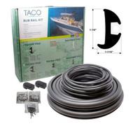 Taco Flexible Rub Rail Kit 1 1-16 x 1 7-8 x 70'