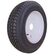 """Loadstar 175/80D13 5-Lug 13"""" Bias Trailer Tire - White"""