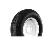 """Kenda Karrier KR03 205/75D14 5 Lug 14"""" Radial Trailer Tire - White"""