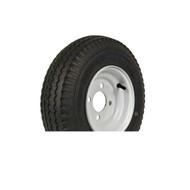 "Loadstar 480-8 4 Lug 8"" Bias Trailer Tire - White Load Range B"