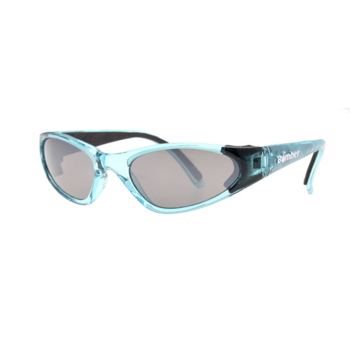 Bomber KCBL5 K-Bombs Kids Floating Sunglasses Blue/Mirror Lens